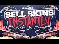 Sell CS:GO Skins INSTANTLY! Paypal, BItcoin & More!