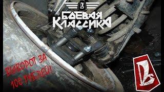 ВАЗ 2106 Боевая Классика / Делаем бутерброды / ВЫВ...