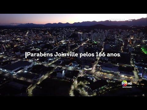 Homenagem do SBT Santa Catarina aos 166 anos de Joinville
