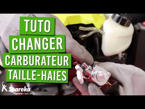 TUTO - Comment changer le carburateur de votre taille haies thermique