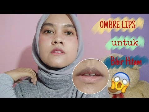 tutorial-ombre-lips-untuk-bibir-hitam/gelap-|-wemmie-trriyani