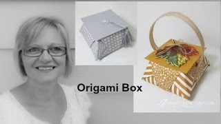 Stampin'Up! Origami Basket