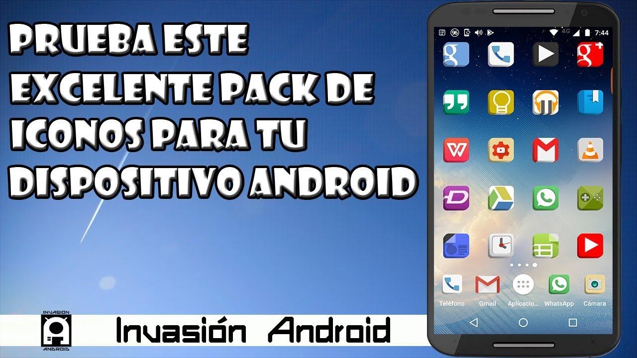 Prueba este espectacular pack de iconos para tu android (gratuito)