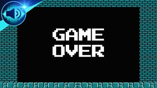 [Super Mario Bros] Game Over Music N°2 Sound Effect [Free Ringtone Download]