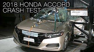 Honda Accord (2018+) Pole Crash Test