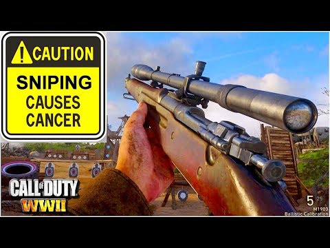 Call of Duty: WWII New Update (No Sniper Nerf) thumbnail