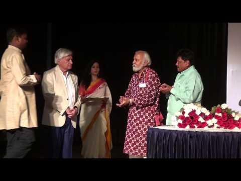 Indore artists receiving awards - 42