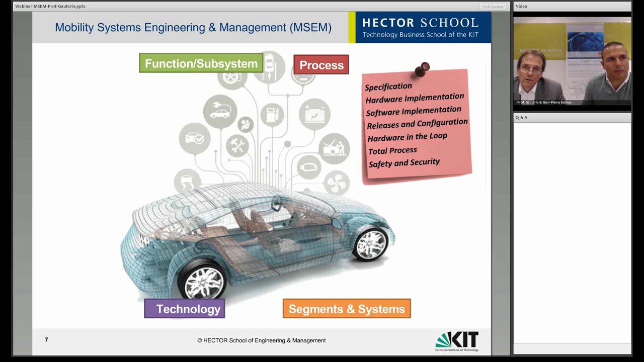 HECTOR School - Technology Business School of the Karlsruhe