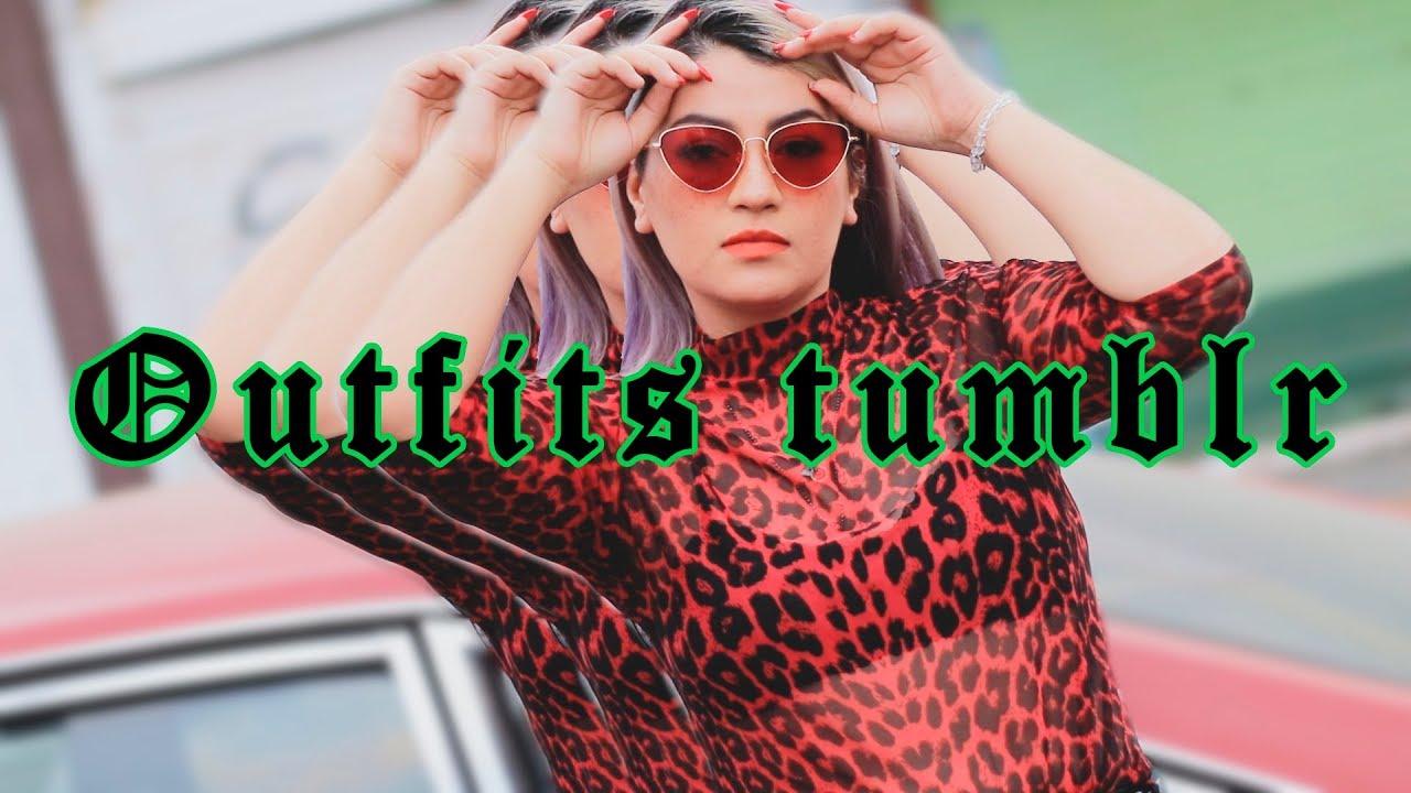 [VIDEO] - Outfits TUMBLR (Tendencias) | L I N A B L A C K 7