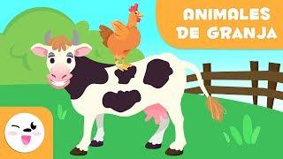 Los animales de la granja para niños - Vocabulario para niños