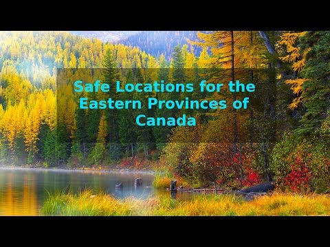 Safe Locations against the Pole-Shift for the Eastern Provinces