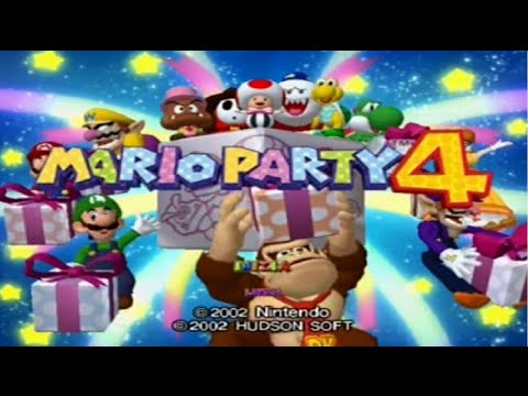 Mario Party 4 - All Mini-Games