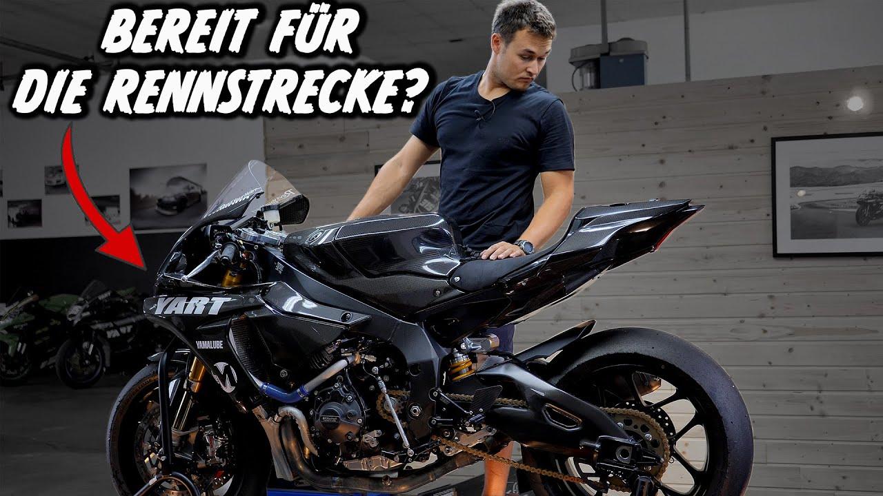 Wie bereite ich mein Bike auf die Rennstrecke vor?