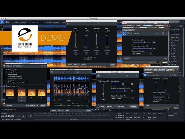 Demo Izotope Rx 7 And Rx 7 Advanced Youtube