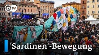 'Sardinen'-Proteste punkten gegen Salvini   Fokus Europa