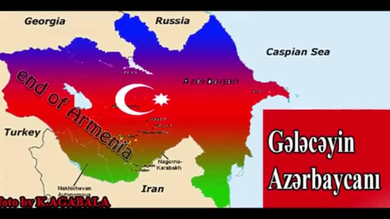 Maps of Azerbaijan and Armenia 2 YouTube