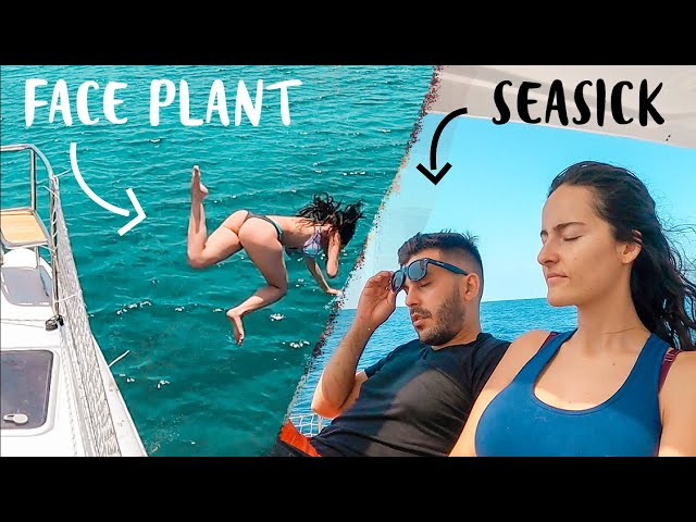 FUNNIEST SAILING VLOG! Face Plant Fail Living On A Sailboat 😂