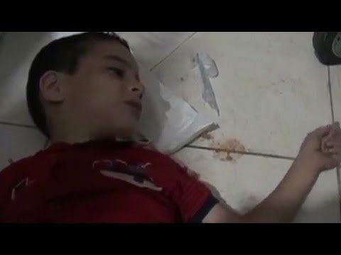 Expert: Video proves Syria's chemical weapons use