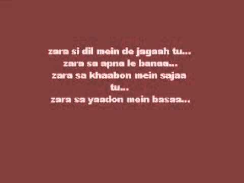 Zara Se Lyrics- Jannat