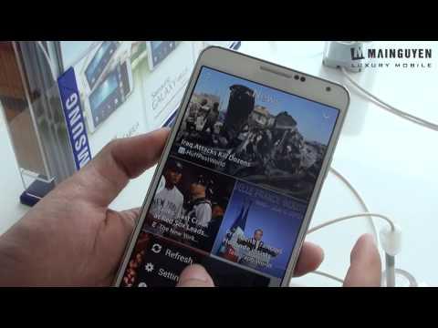 [Trên tay] Samsung Galaxy Note 3 - www.mainguyen.vn
