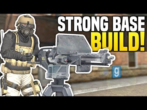 BUILDING A STRONG BASE - Gmod DarkRP | Police Wont Stop Raiding!