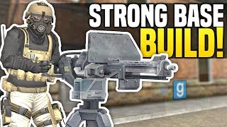 BUILDING A STRONG BASE - Gmod DarkRP | Police Won't Stop Raiding!
