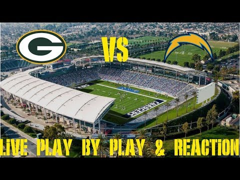 Packers Vs Chargers Live Play By Play & Reaction