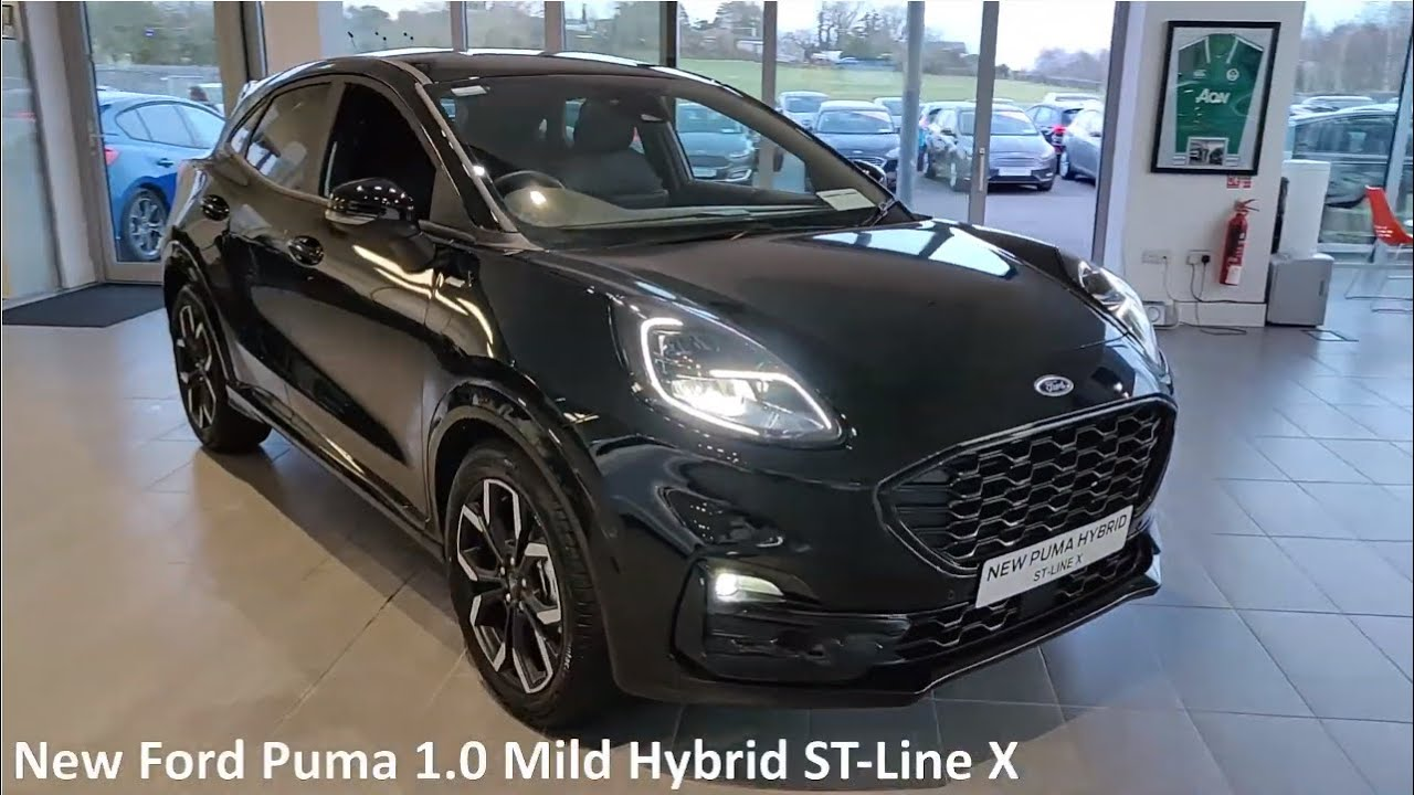 New Ford Puma St Line X 2020 Walkaround Interior And Exterior