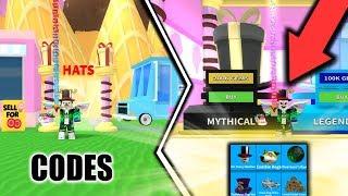 ⭐ NEW * MYTHICAL * CAPS * ICE CREAM SIMULATOR CHEATS | ROBLOX ⭐