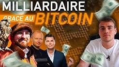 Milliardaire grâce au Bitcoin | 3 histoires incroyables