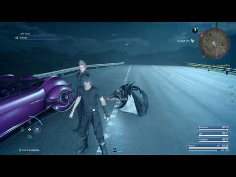 Final Fantasy XV (PS4): Aranea Glitch (Keeping Aranea In Your Party On Version 1.12)
