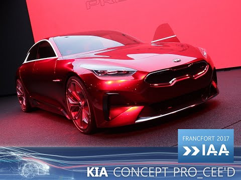 Kia Pro_cee'd Concept en direct du Salon de Francfort 2017