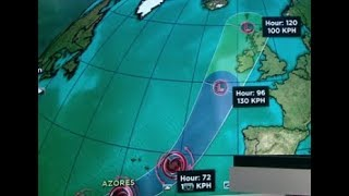 Hurricane Ophelia 2017: Hurricane Ophelia Heads To Europe And Expected To Hit Ireland And UK