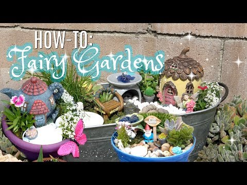 HOW TO MAKE A FAIRY GARDEN | FAIRY GARDEN TUTORIAL