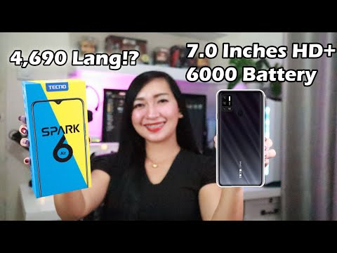 TECNO SPARK 6 AIR : BIG BATTERY, BIG SCREEN (Unboxing & Review)