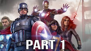 MARVEL'S AVENGERS Gameplay Walkthrough Part 1 FULL GAME