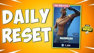 THE BRAND NEW SKINS IN FORTNITE - Fortnite Daily Reset New Items in Item Shop