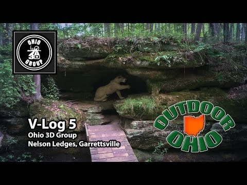 OutdoorOhio | Vlog5 | Shooting 3D Archery at Nelson Ledges