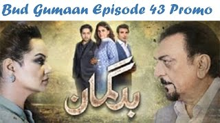 Bud Gumaan Episode 43 Promo HD HUM TV Drama 17 November 2016 #SafiProductions
