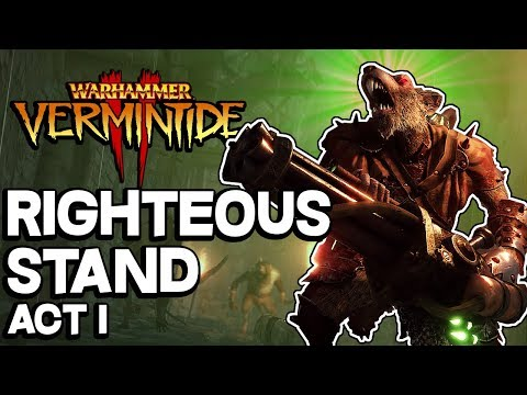 SURVIVING the RATLING GUNS!!! Vermintide 2 Waywatcher Gameplay and Loot Sytem