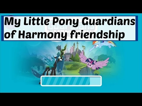 My Little Pony Equestria Girl Games : My Little Pony Guardians of Harmony friendship game
