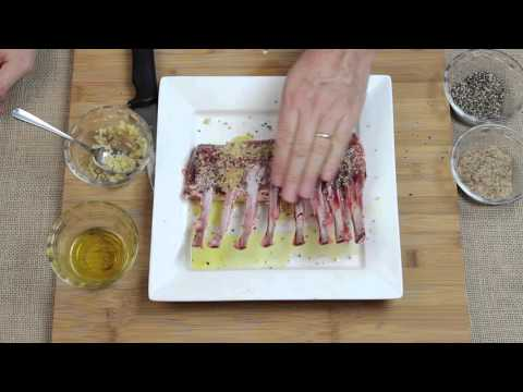 How To Make Grilled Rack Of Lamb