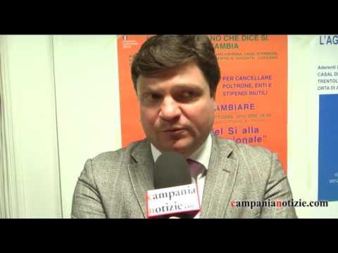 Referendum, il sindaco De Rosa: si aiuterà i Comuni