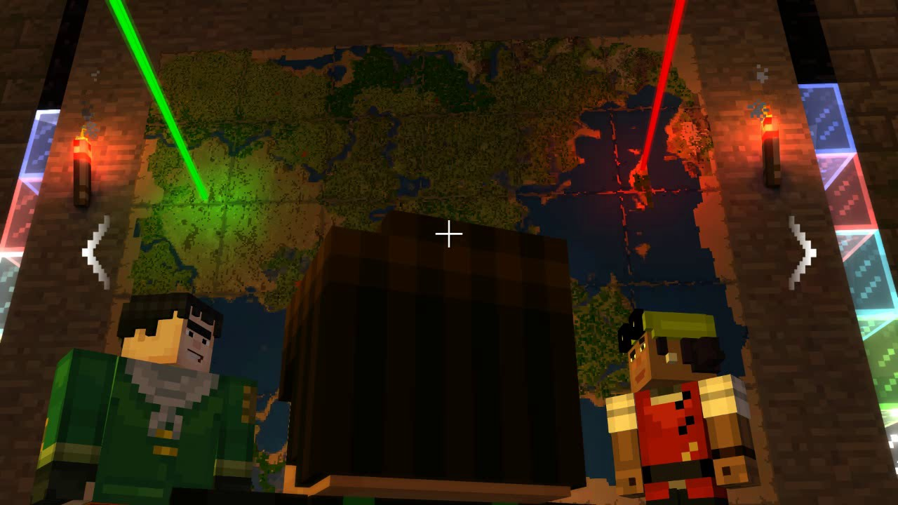 Minecraft Story Mode Ep4 Quot That S Not A Big Map Quot Youtube