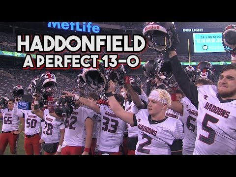 Haddonfield 17 Hillside 7 | South Group 2 Bowl | Haddons Finish Perfect 13 0 Year