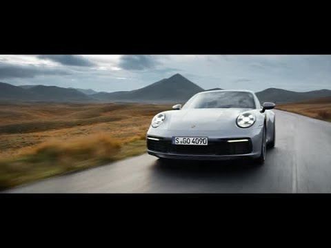 The new Porsche 911. Timeless machine.