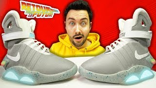The Sneakers of the Future at 100000€ Autolacing ? (Nike Mag Replicas)