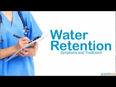 Water Retention ¦ Treatment And Symptoms