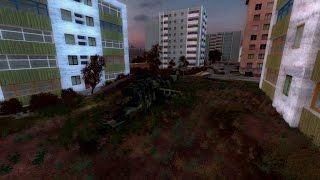 видео Прохождение S.T.A.L.K.E.R. Мёртвый город # 1 Зомби и вертолёты