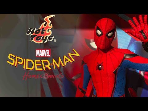 Hot Toys Spider-Man Homecoming Unboxing